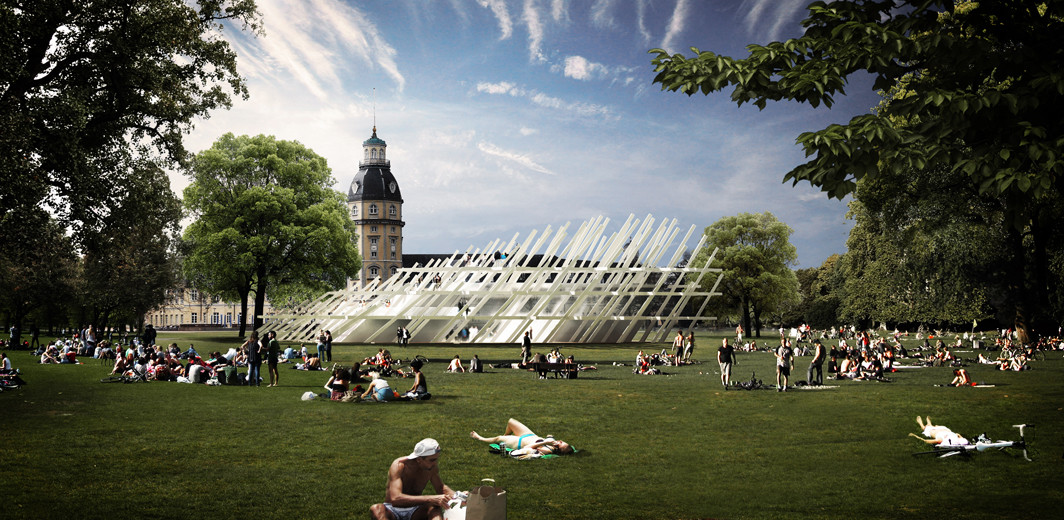 J. Mayer H. Chosen to Design Karlsruhe's Anniversary Pavilion , Courtesy of J. Mayer H.