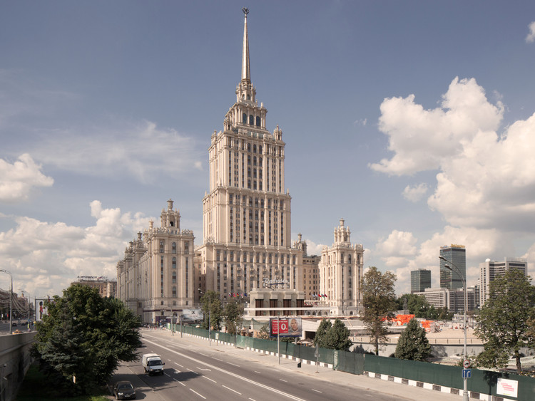 Three Finalists Announced for Moscow's Ukraina Hotel Entryway Competition, ABD Architects. Image Courtesy of Entryway <<Ukraina>> Hotel Competition
