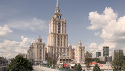 Three Finalists Announced for Moscow's Ukraina Hotel Entryway Competition