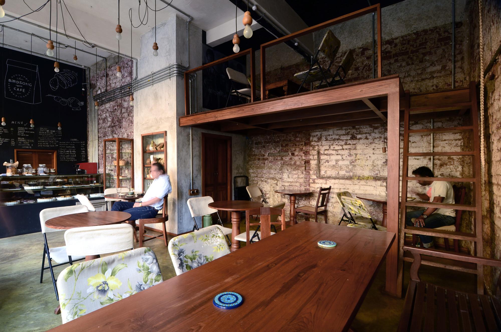 Birdsong Cafe Studio Eight Twentythree Archdaily