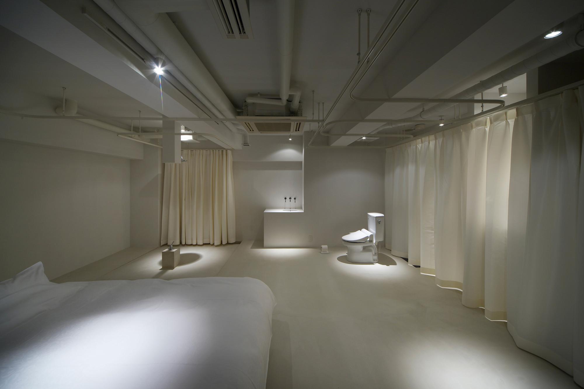 room 211 Hotel T'Point / Mifune Design Studio, © Yasunori Shimomura