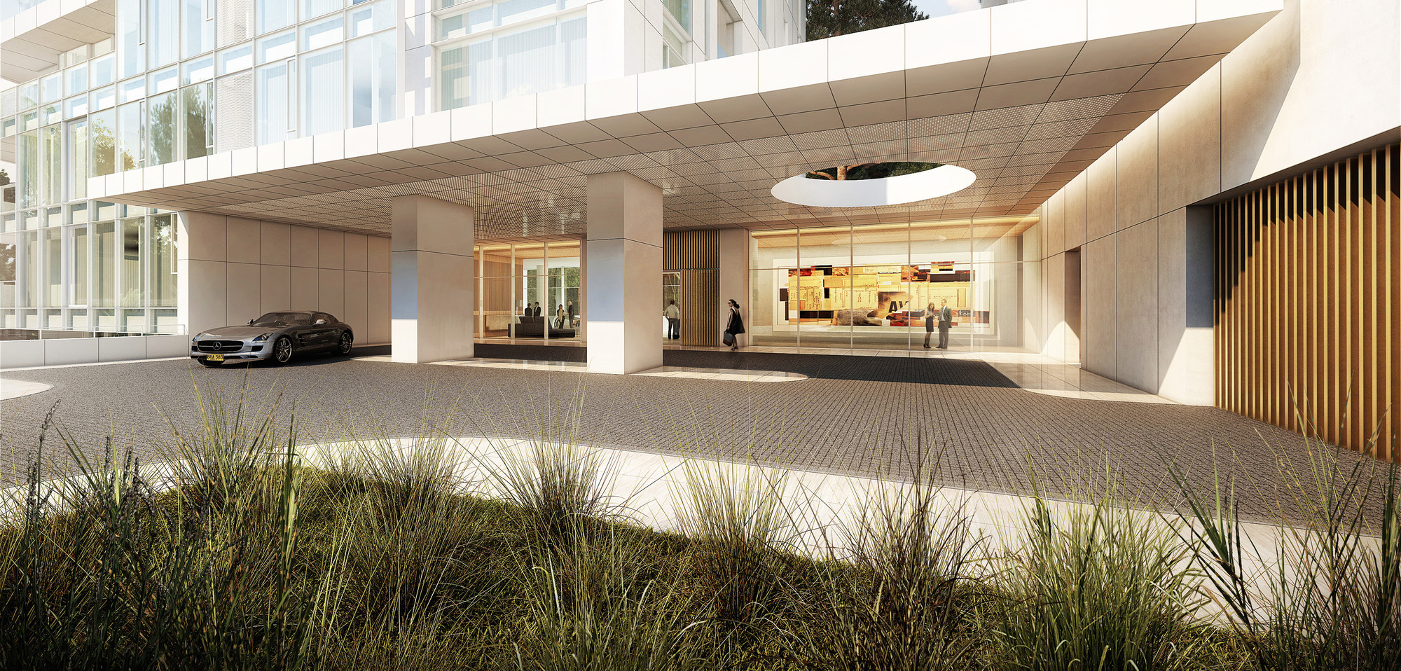 Gallery of Richard Meier Designs Two-Tower Residential