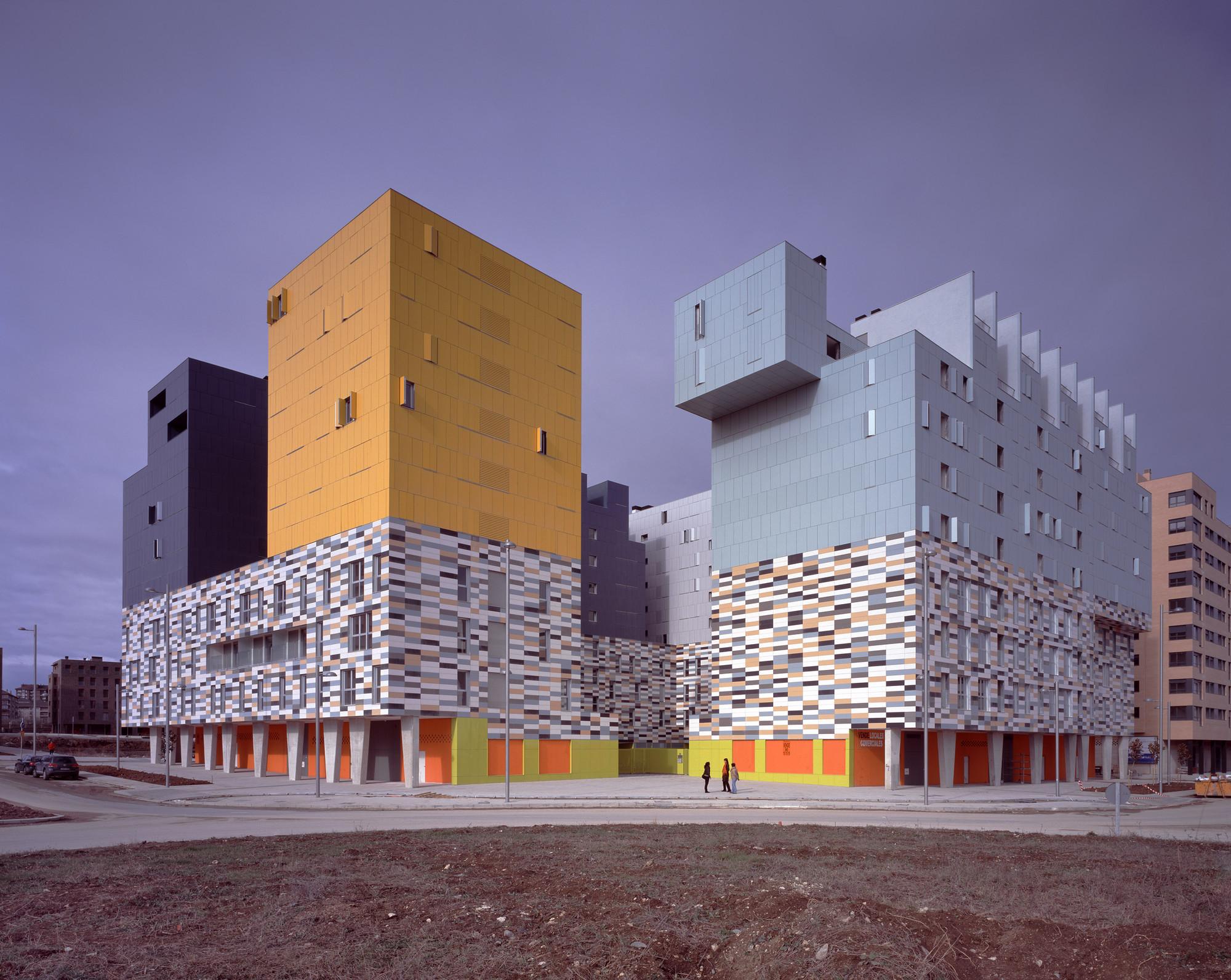 177 social housing in vitoria matos castillo arquitectos - Arquitectos vitoria ...