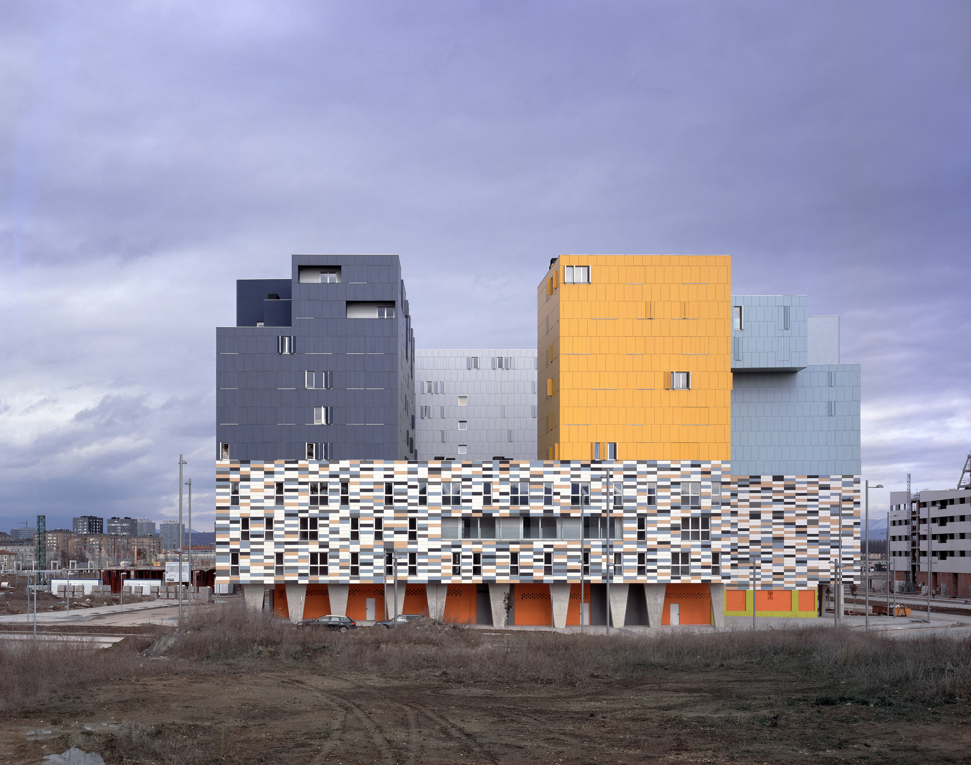 177 Social Housing In Vitoria  / Matos-Castillo Arquitectos, © Hisao Suzuki