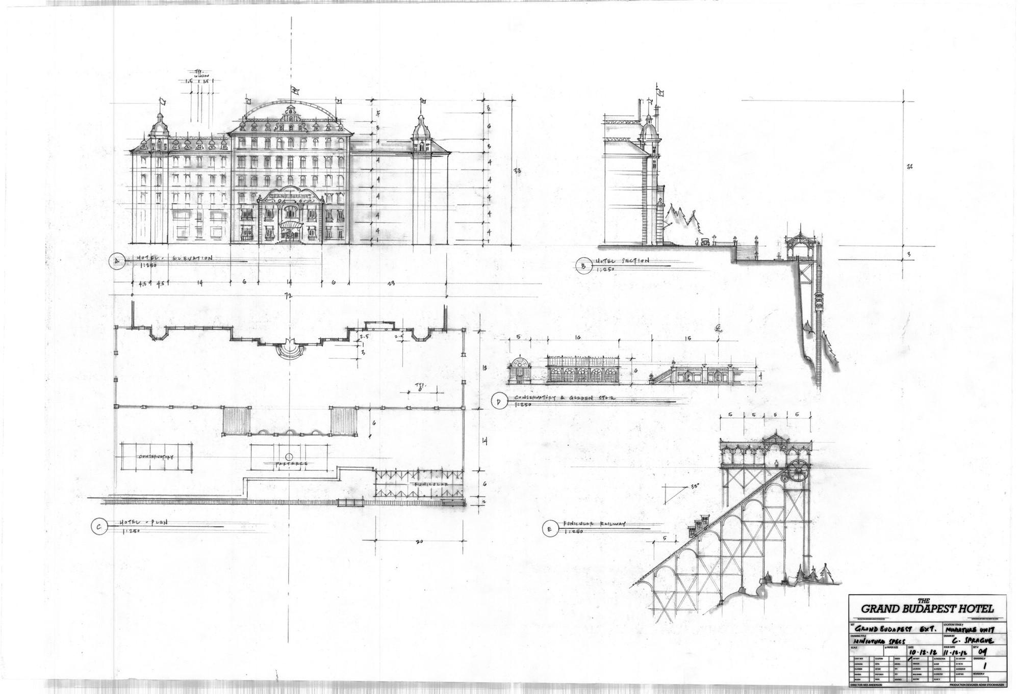 Planimetrías del Hotel