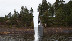 """Memory Wound"" Fractures Landscape, Commemorates Victims of Norway's Massacre"