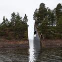 """Arquitectura y Paisaje: """"Memory Wound"""" - Monumento en homenaje a las victimas de la masacre en Noruega © Jonas Dahlberg"""