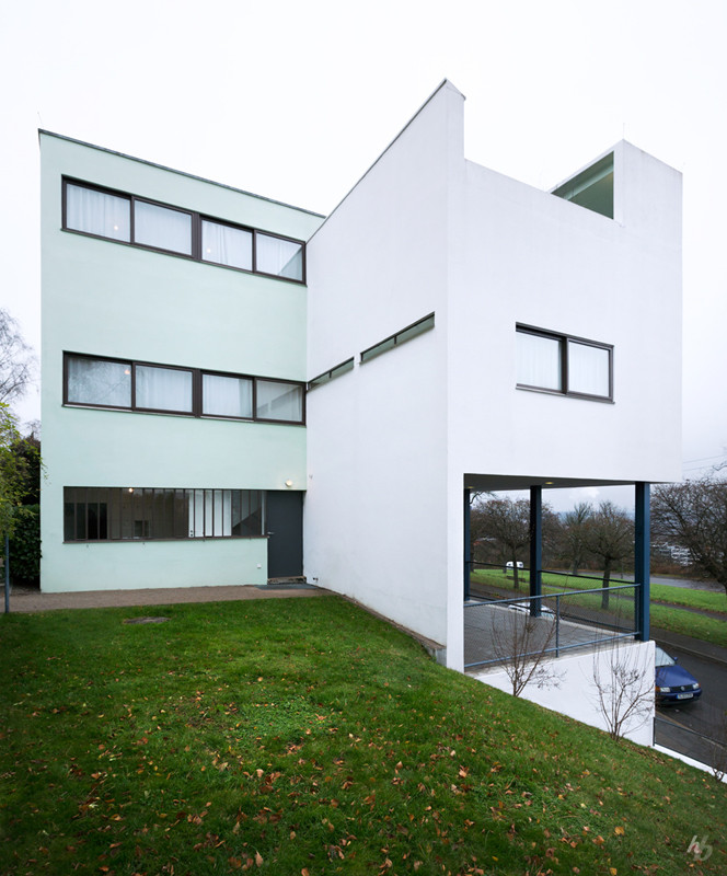 Gallery of ad classics weissenhof siedlung houses 14 and - Casas de le corbusier ...