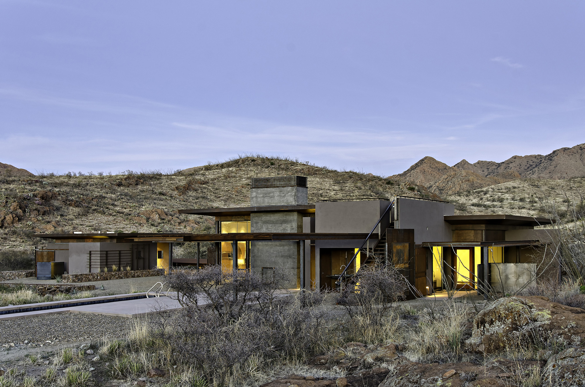 San Cayetano Mountain Residence / Paul Weiner | DesignBuild Collaborative , © Liam Frederick Photography