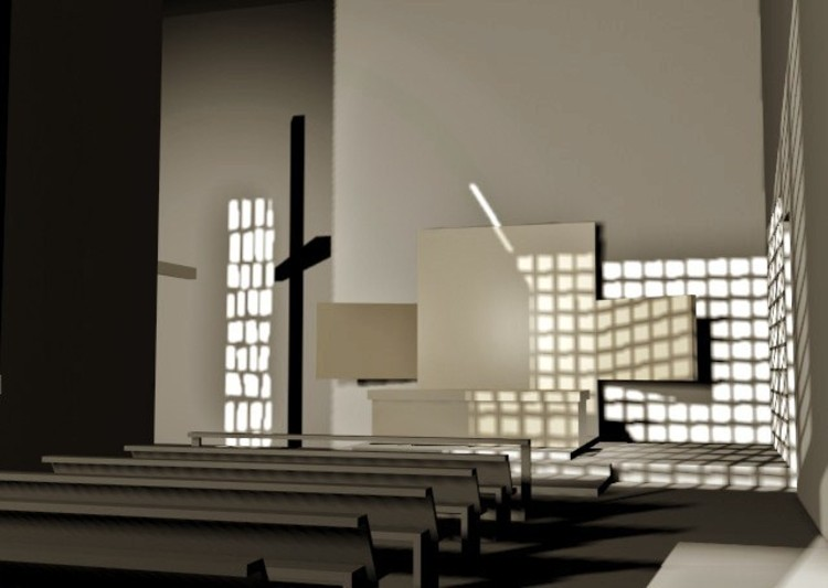 Clásicos de Arquitectura: Capilla de las Capuchinas / Luis Barragán. Image © Cortesía de Mi Moleskine Arquitectónico