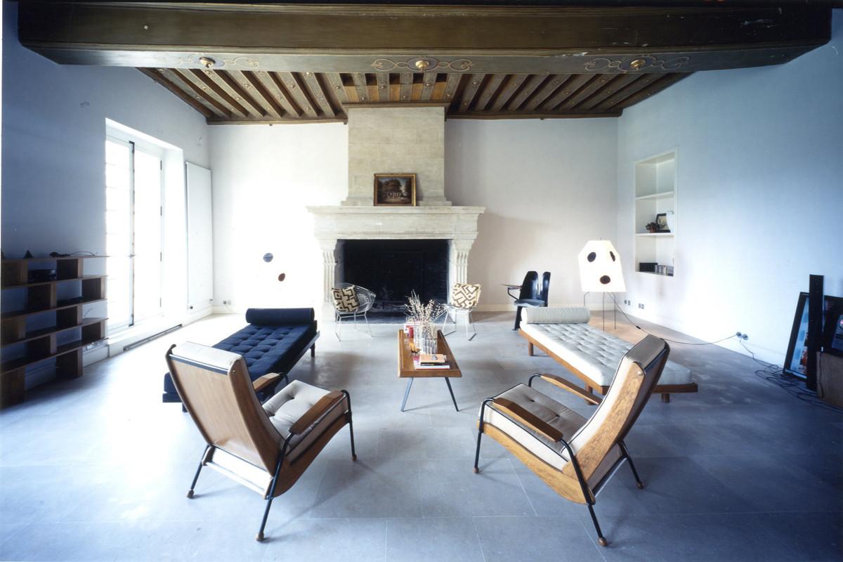 Exhibition: Where Architects Live, Massimiliano and Doriana Fuksas' Home / © Aki Furudate
