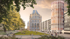 Designs Unveiled for London's Natural History Museum Urban Redevelopment