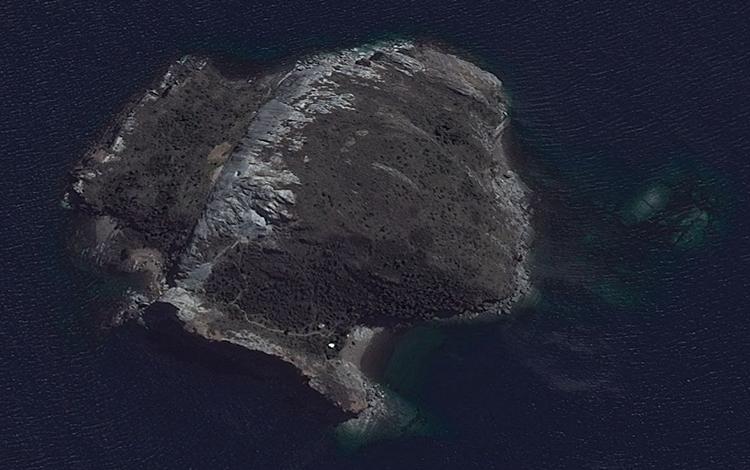 Vista Satelital. Image Cortesía de Galería Patricia Ready