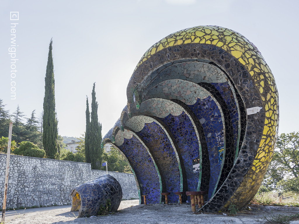 Gagra, Abkhazia. Imagen Cortesía de herwigphoto.com