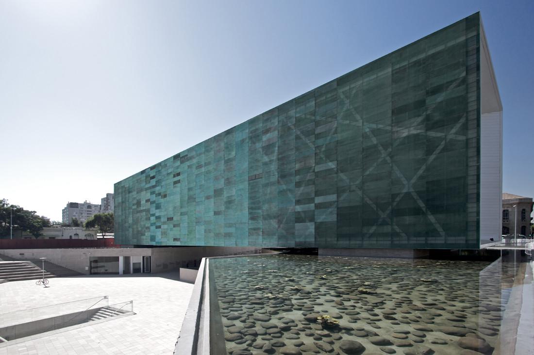 Revestimiento en Vidrio del Museo de la Memoria, por Estudio América. Image © Nico Saieh