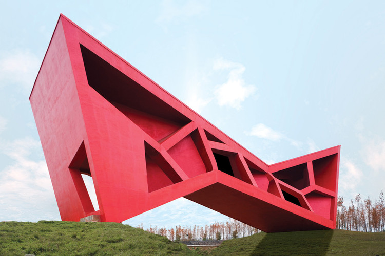 Bridging Teahouse / FR-EE / Fernando Romero Enterprise, ©  Iwan Baan