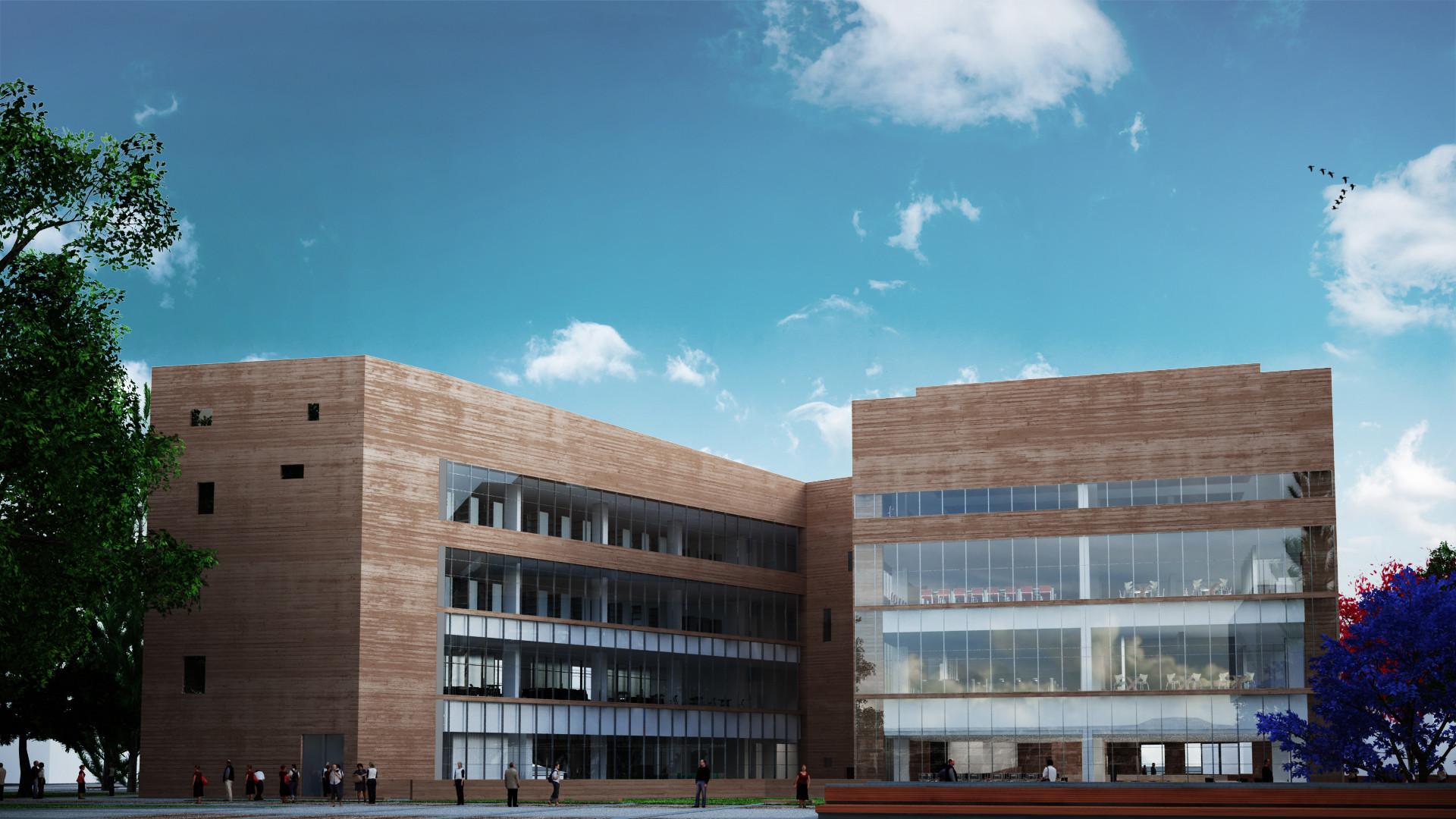 Biblioteca de Ciencias, Ingenería y Arquitectura PUCP. Image Courtesy of Llosa Cortegana Arquitectos