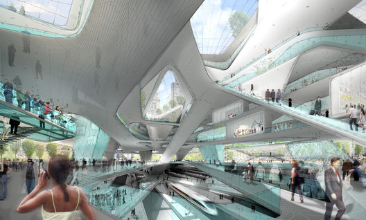 Penn Station, Re-Imagined. Image Courtesy of Diller Scofidio + Renfro
