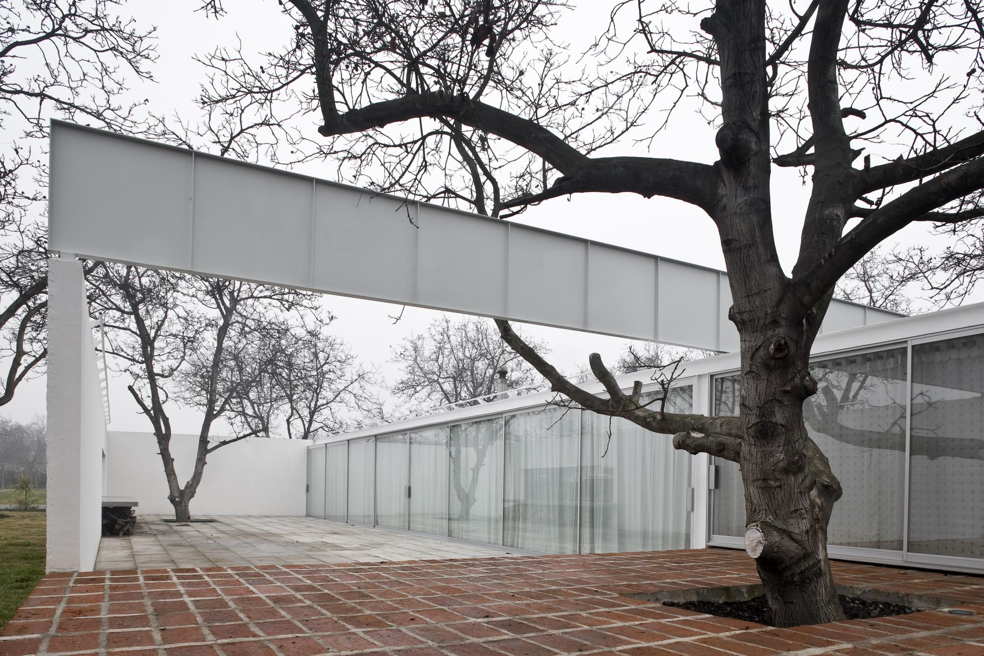 Casa Chilena 1 Rancagua, Chile 2005-2006 © Smiljan Radic, Fotografía por Gonzalo Puga