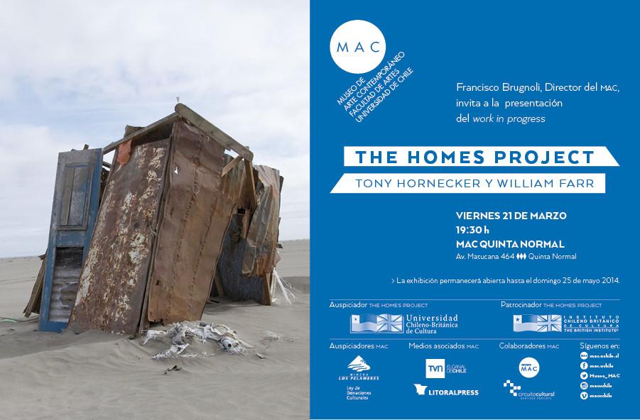 Exposición: Tony Hornecker presenta sus hogares efímeros en MAC Quinta Normal / Chile, Courtesy of thehomesproject