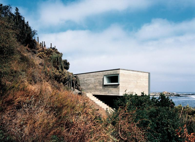 Casa Pite, Papudo, Quinta Region, Chile 2003 - 2005 Fotografía © Cristobal Palma