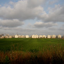 Construction site, Netanya. Image © Edith Kofsky / The Israeli Pavilion 2014