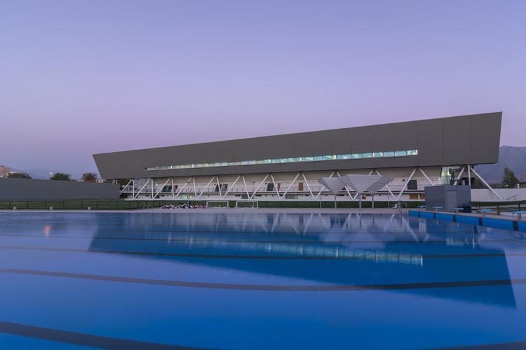 Centro Acuatico Estadio Nacional / Iglesis Prat Arquitectos, © Juan Francisco Vargas Malebrán