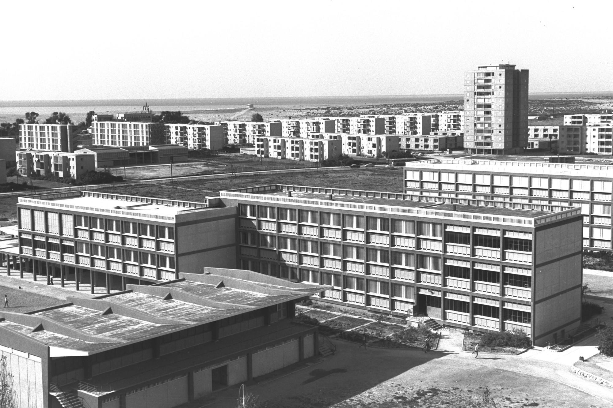 Imágen de Moshe Fridman / GPO. ImágenTel Aviv 1963