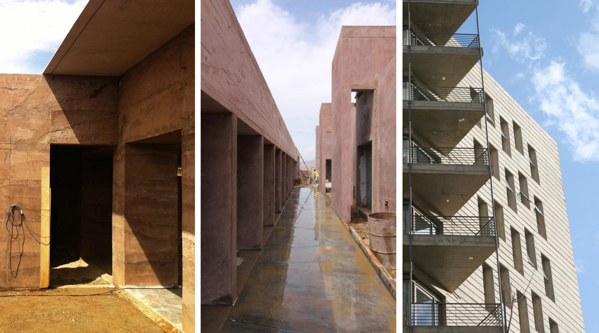 En Construcción: Hormigón pigmentado