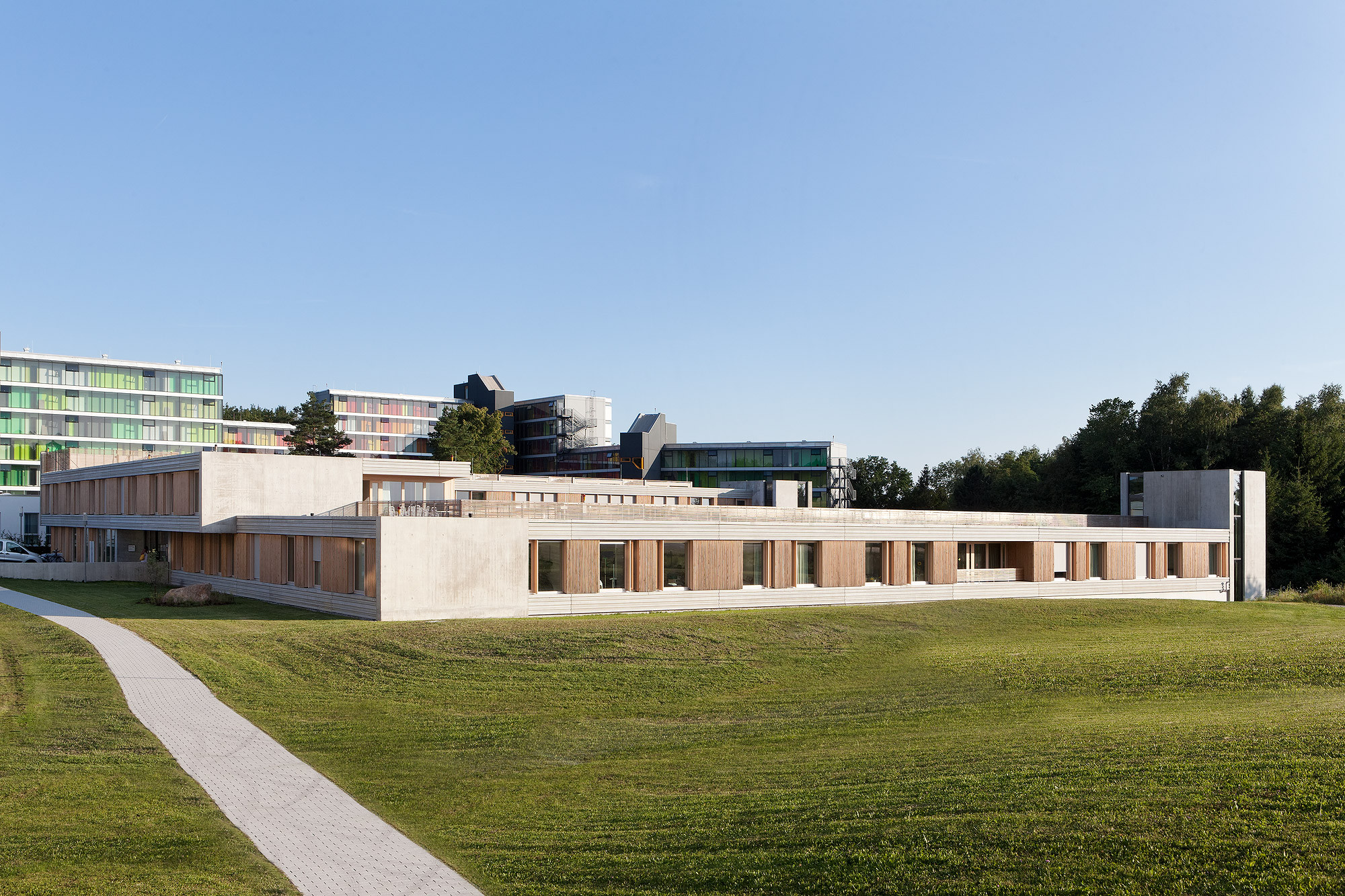 psychiatric centre friedrichshafen huber staudt. Black Bedroom Furniture Sets. Home Design Ideas