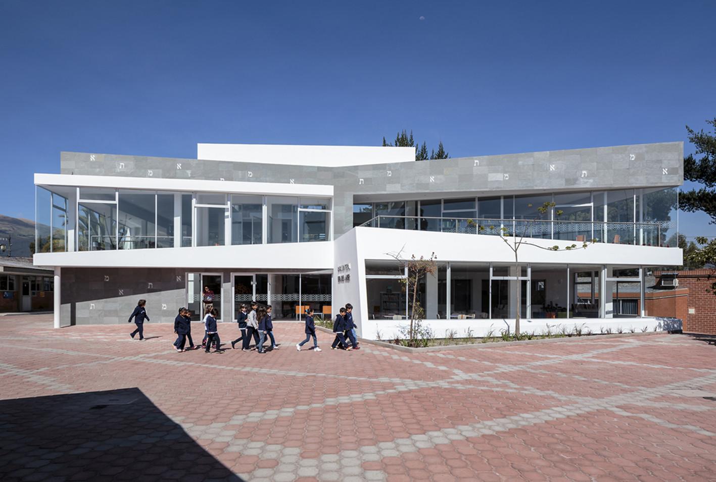 Gerardo Anker Library / L+A arquitectos, © Sebastián Crespo