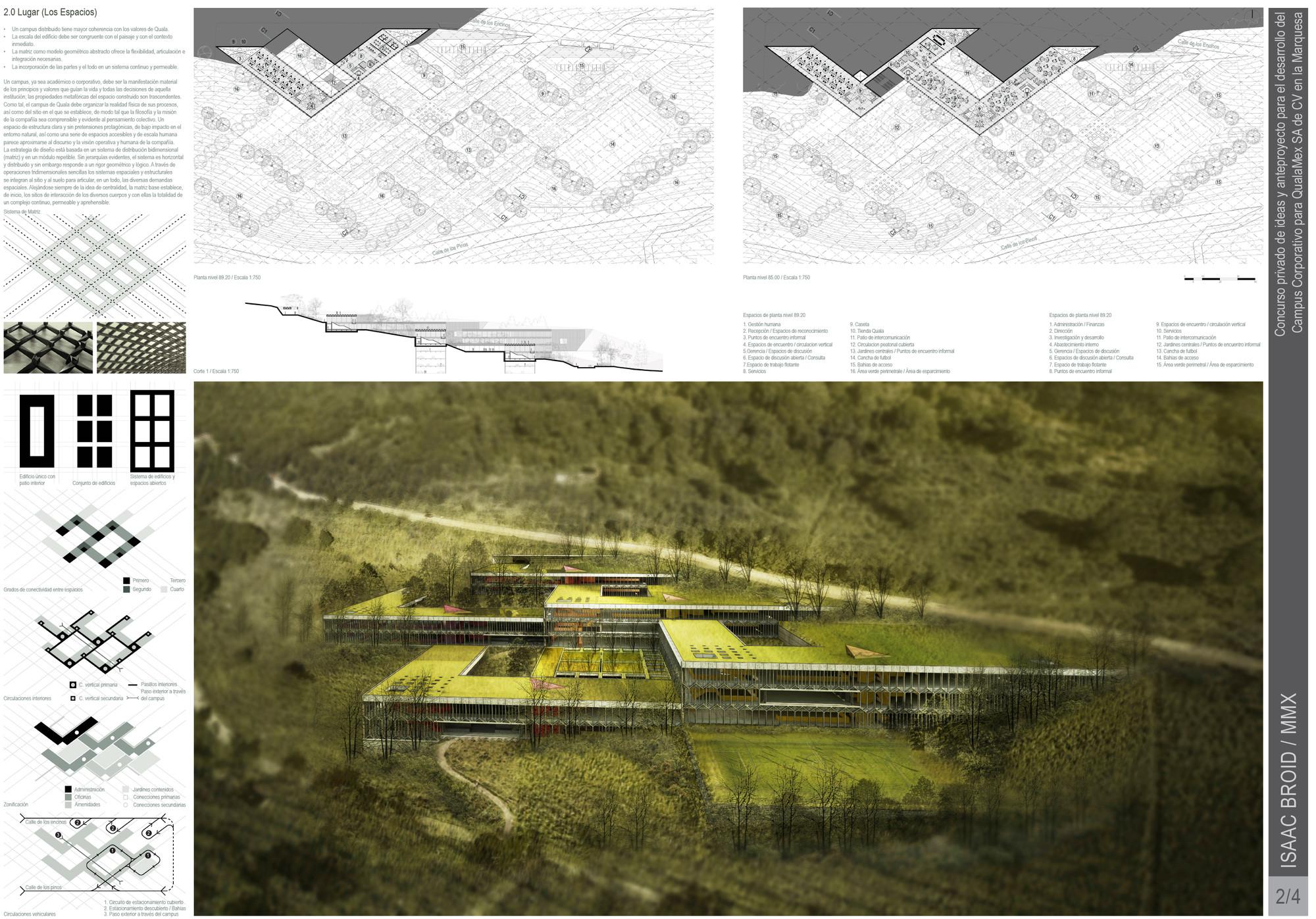 2.0 Lugar (Los Espacios). Image Courtesy of Estudio MMX & Isaac Broid