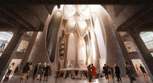 Interior. Image Courtesy of Heatherwick Studio