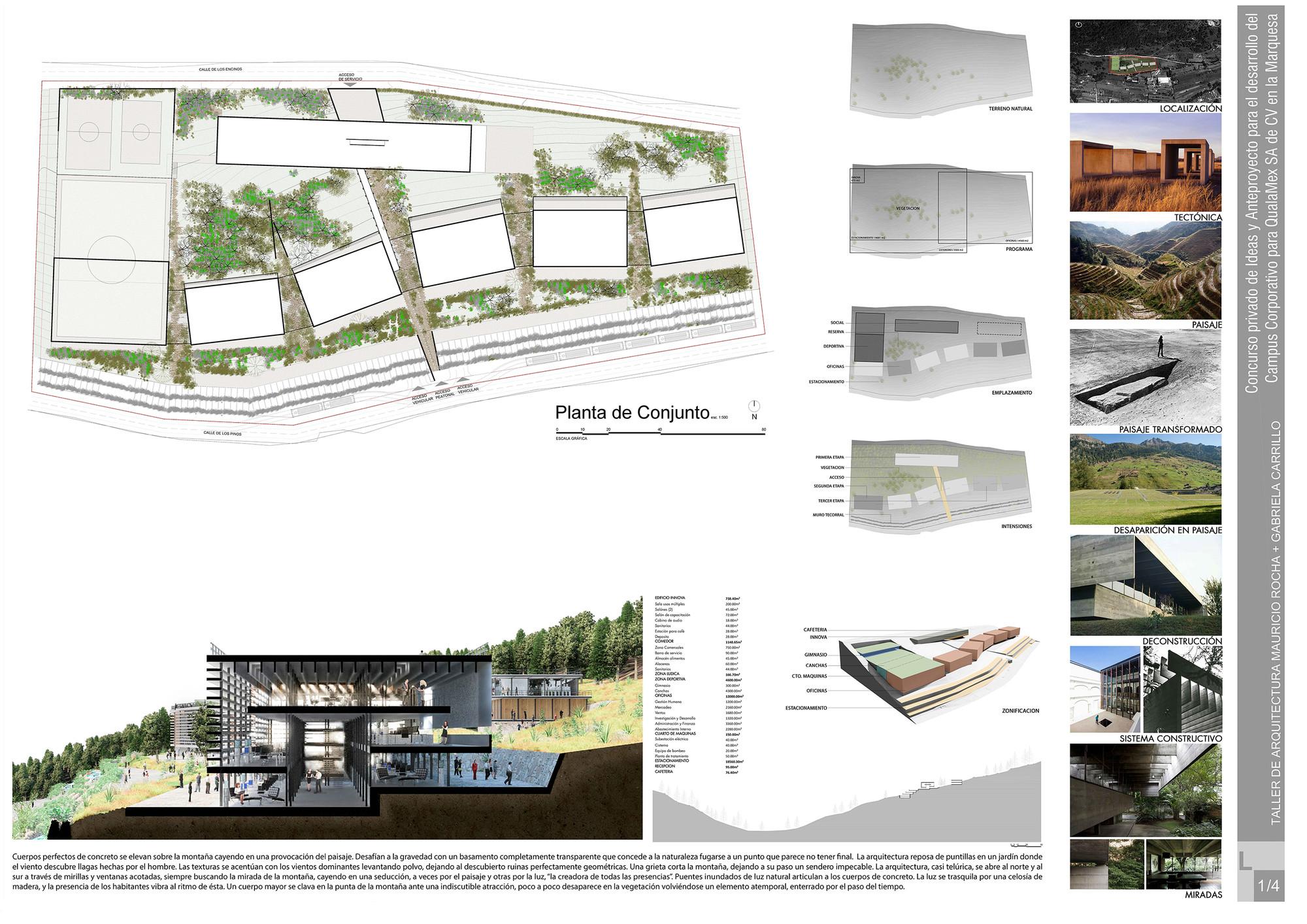 Lámina 1 / Propuesta de Taller de Arquitectura