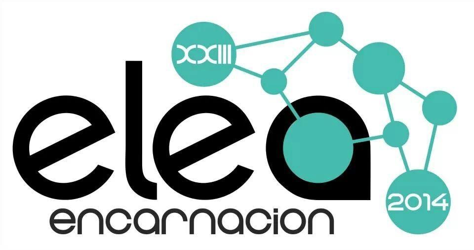 Afiche. Image Courtesy of XXIII ELEA Encarnación 2014