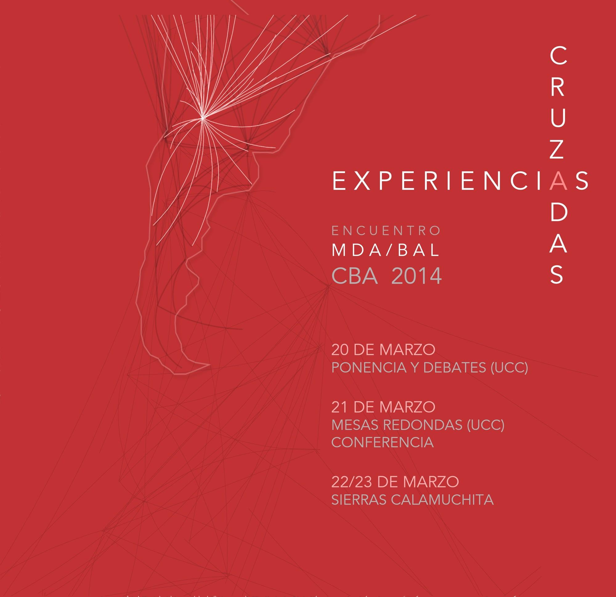 Encuentro MDA, Experiencias Cruzadas / Córdoba 2014