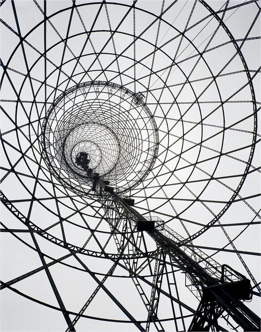 Richard Pare, Shabolovka Radio Tower, Moscow, Russia. Vladimir Shukhov, 1922. Image © Richard Pare 2007