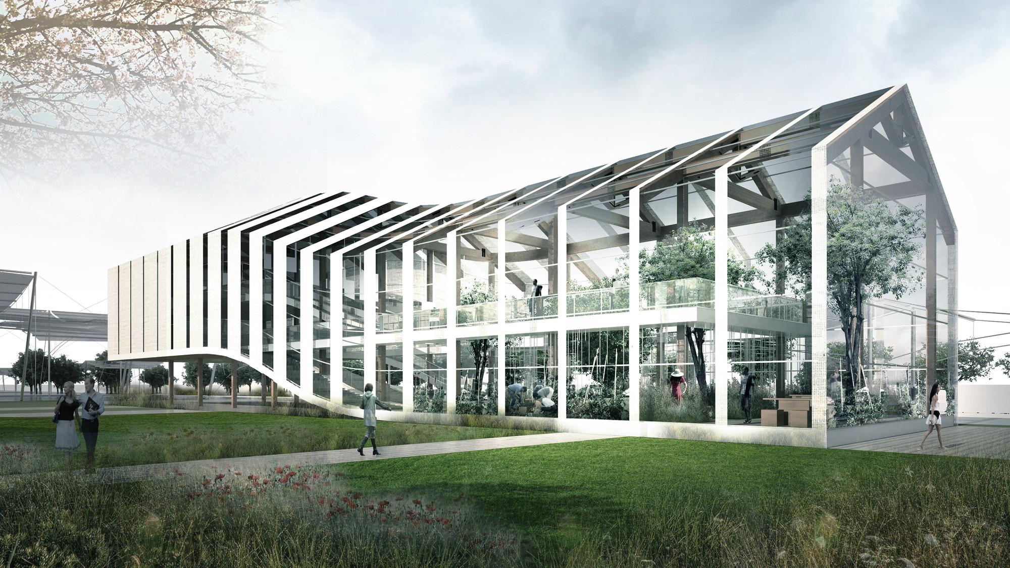 Competition Entry: Austrian Pavilion (Milan Expo 2015) / Paolo Venturella, © wemage, Courtesy of Paolo Venturella
