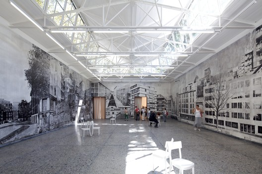 Venice Biennale 2012: Switzerland Pavilion. Image © Nico Saieh