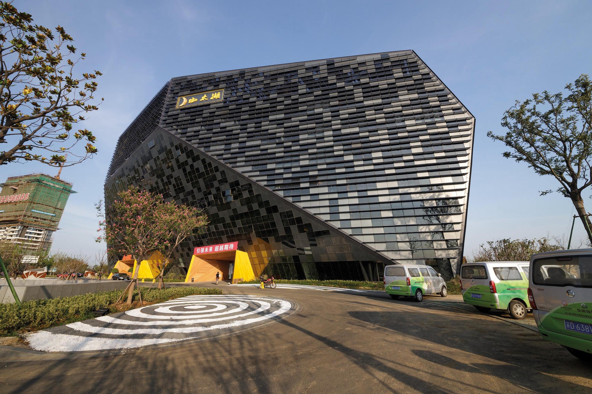 Gallery of west taihu international business plaza lab for Architecture studio
