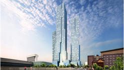 HWKN + Handel Architects Break Ground on New Jersey's Tallest Building