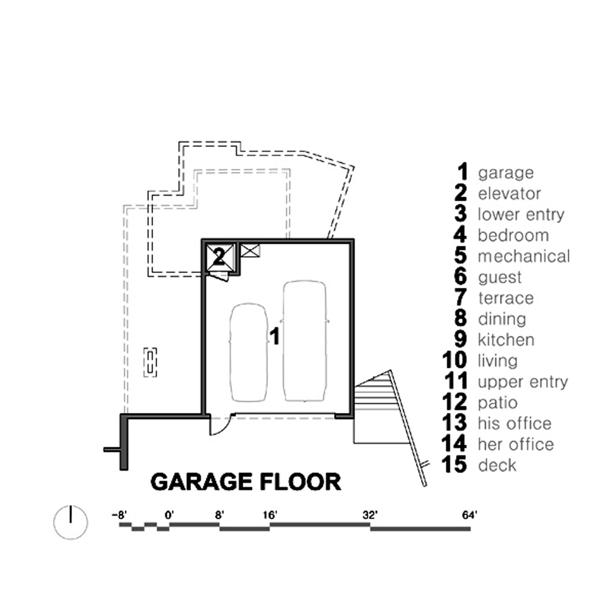 Gallery of main street house shed architecture design 14 for Main street homes floor plans
