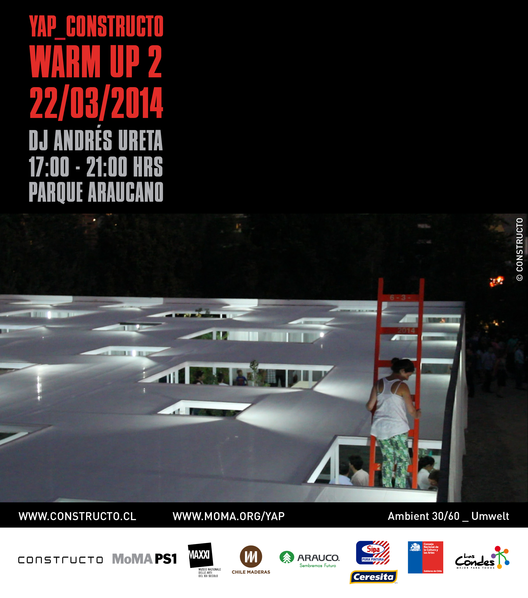 "Warm Up 2: Música en YAP_CONSTRUCTO ""Ambient 30-60″, Courtesy of Constructo"
