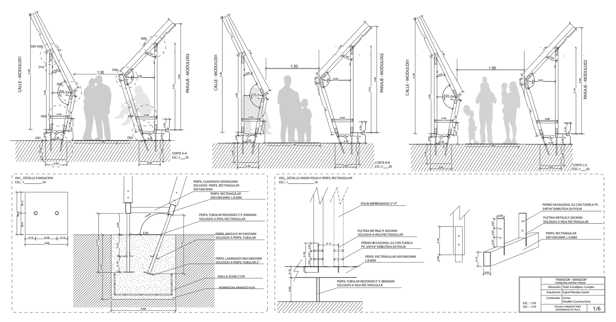 Cortes / Detalles Constructivos