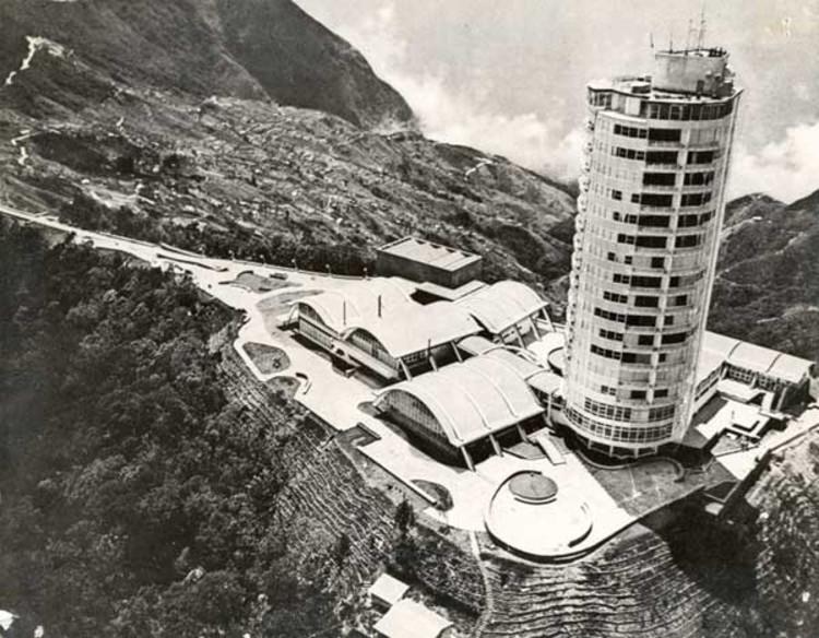 © Cortesía de Sanabria Arquitectos. Aérea del Hotel Humboldt.