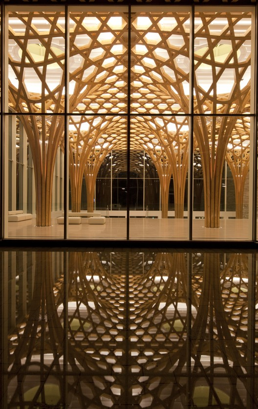 A Selection of Shigeru Ban's Best Work, Nine Bridges Golf Club. Image © Hiroyuki Hirai