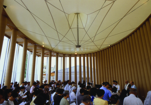 Igreja de Papel. Imagem © Hiroyuki Hirai