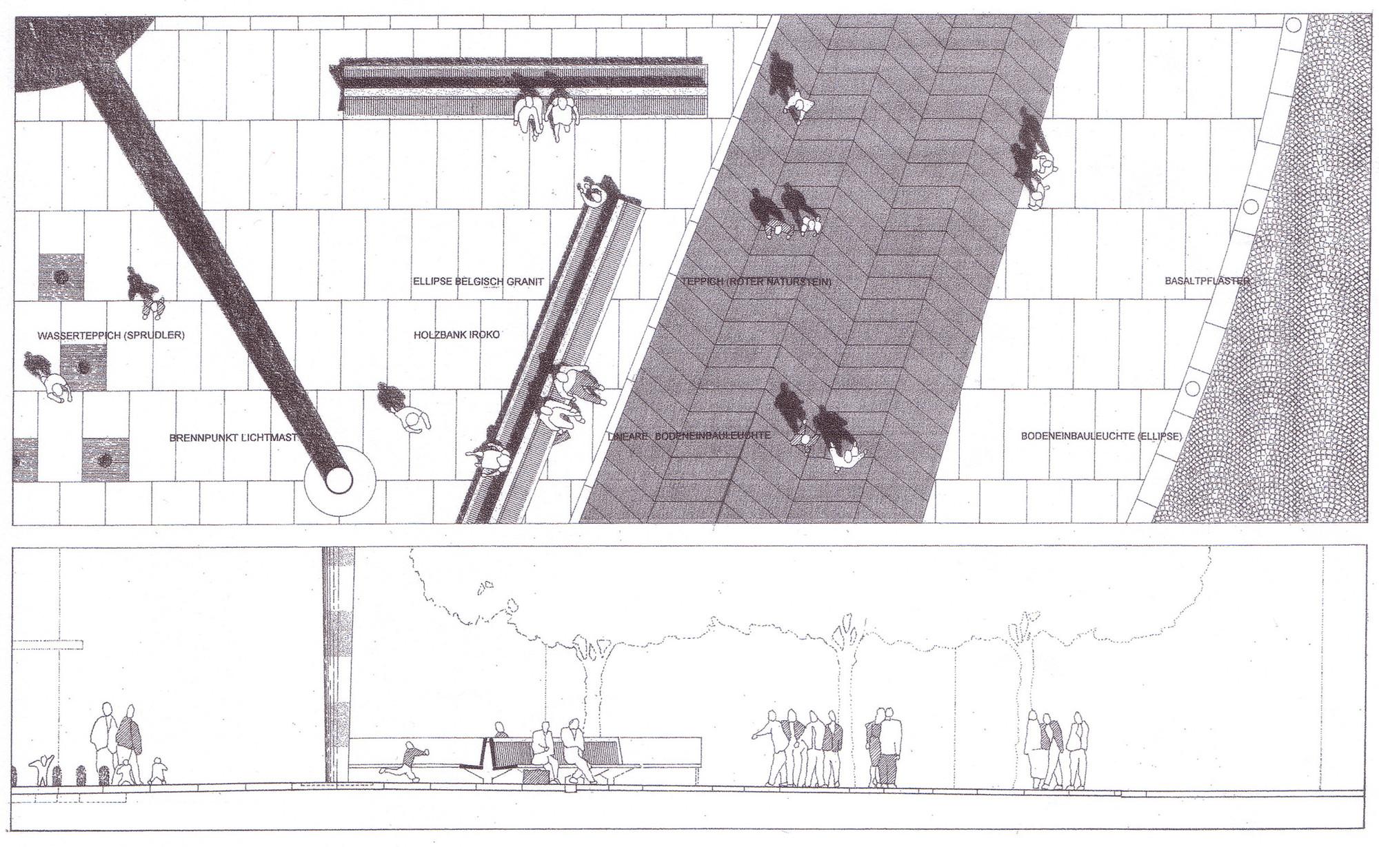 Architekten Aachen gallery of bahnhofplatz aachen hh f architekten hentrup heyes fuhrmann 13