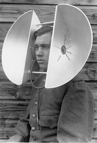 Artefacto de Radar (I Guerra Mundial). Image Courtesy of Cecilia Nercasseau