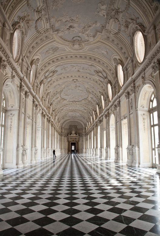 "Galleria di Diana in Venaria Royal Palace, an example of Classical architecture. The Classical Language is an example of an ""extremely successful form language"". Image Courtesy of shutterstock.com"